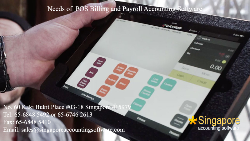 Needs of POS Billing and Payroll Accounting Software