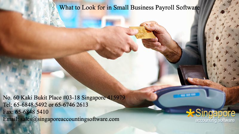 What to Look for in Small Business Payroll Software