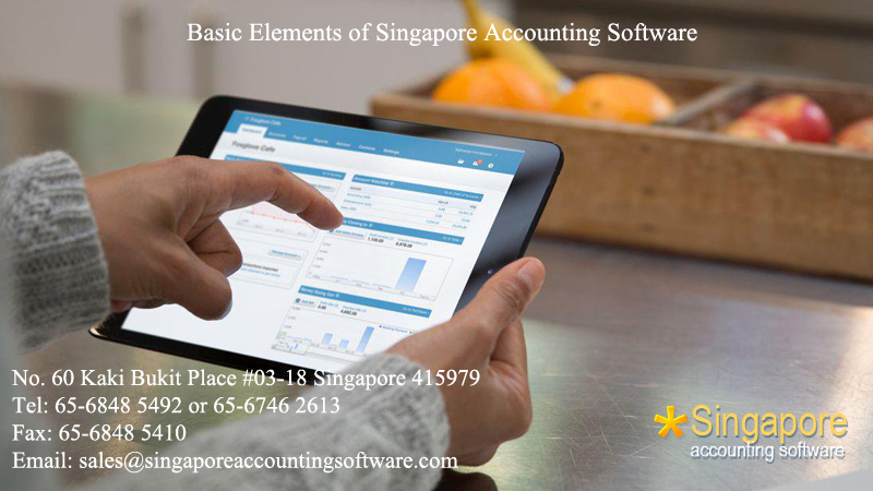 Basic Elements of Singapore Accounting Software