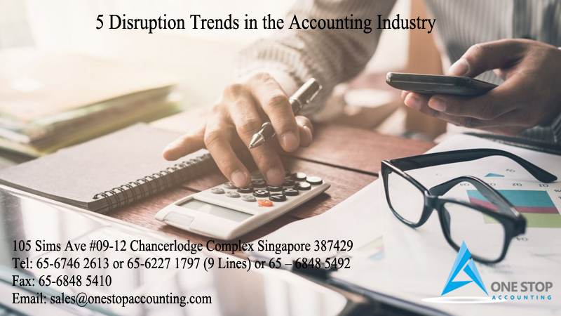 5 Disruption Trends in the Accounting Industry