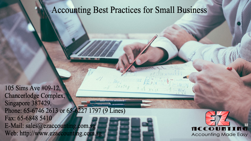Accounting Best Practices for Small Business