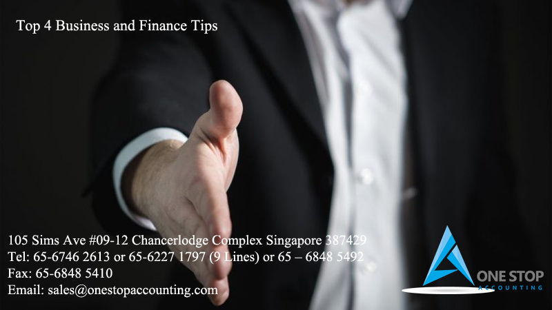 Top 4 Business and Finance Tips