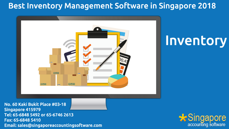 Best Inventory Management Software in Singapore 2018