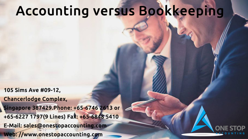 Accounting versus Bookkeeping