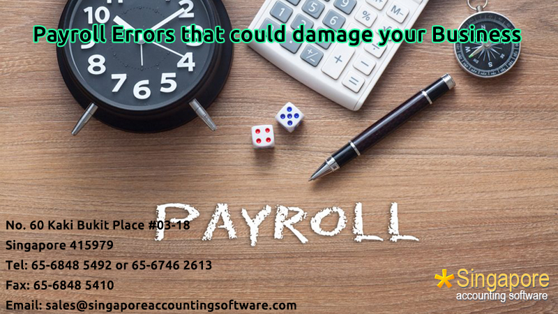 Payroll Errors that could damage your Business