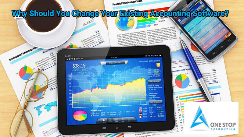 Why Should You Change Your Existing Accounting Software