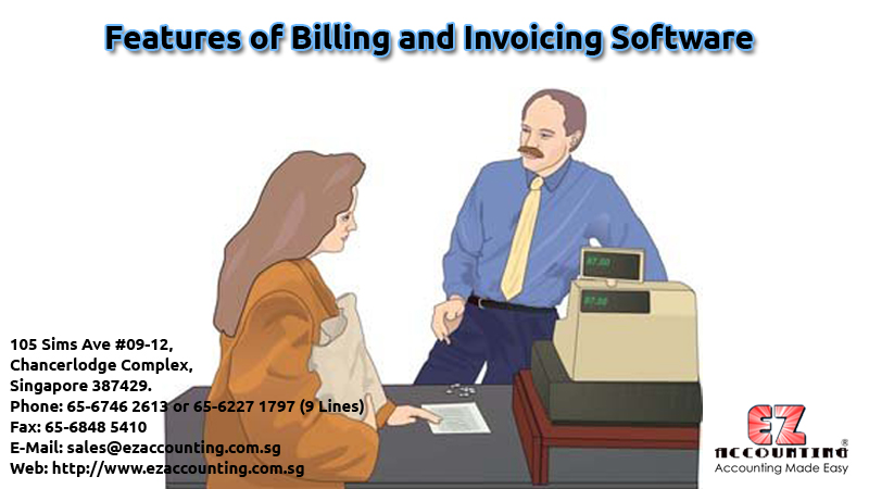Features of Billing and Invoicing Software
