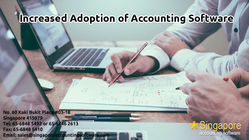 Increased Adoption of Accounting Software