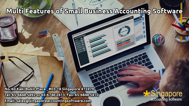 Multi Features of Small Business Accounting Software