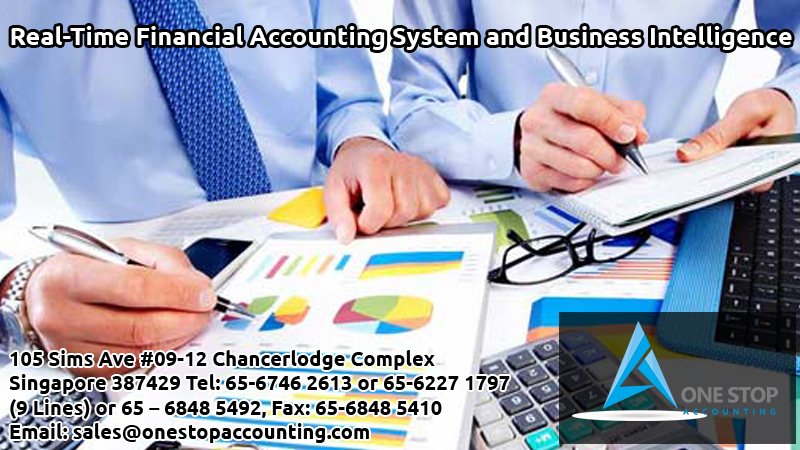Real-Time Financial Accounting System and Business Intelligence
