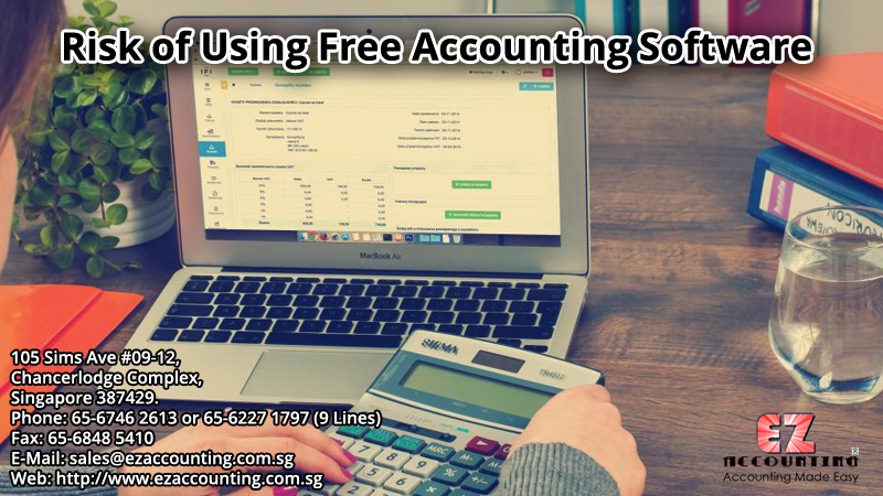 Risk of Using Free Accounting Software