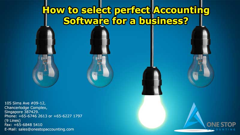 How to select perfect Accounting Software for a business?