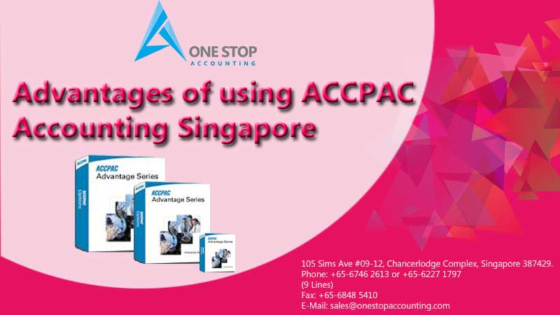 Advantages of using ACCPAC Accounting Singapore