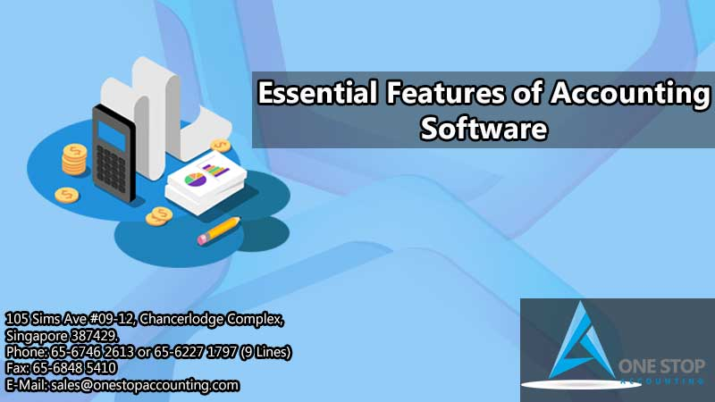 Essential features of accounting software