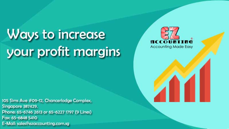 Ways to increase your profit margins