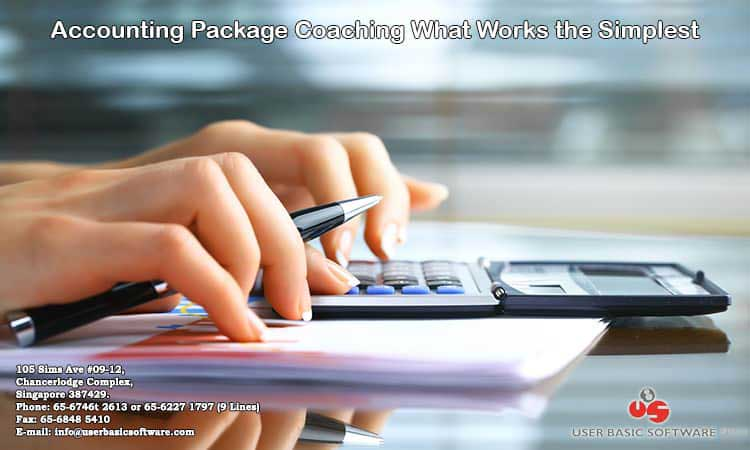 ACCOUNTING PACKAGE COACHING WHAT WORKS THE SIMPLEST