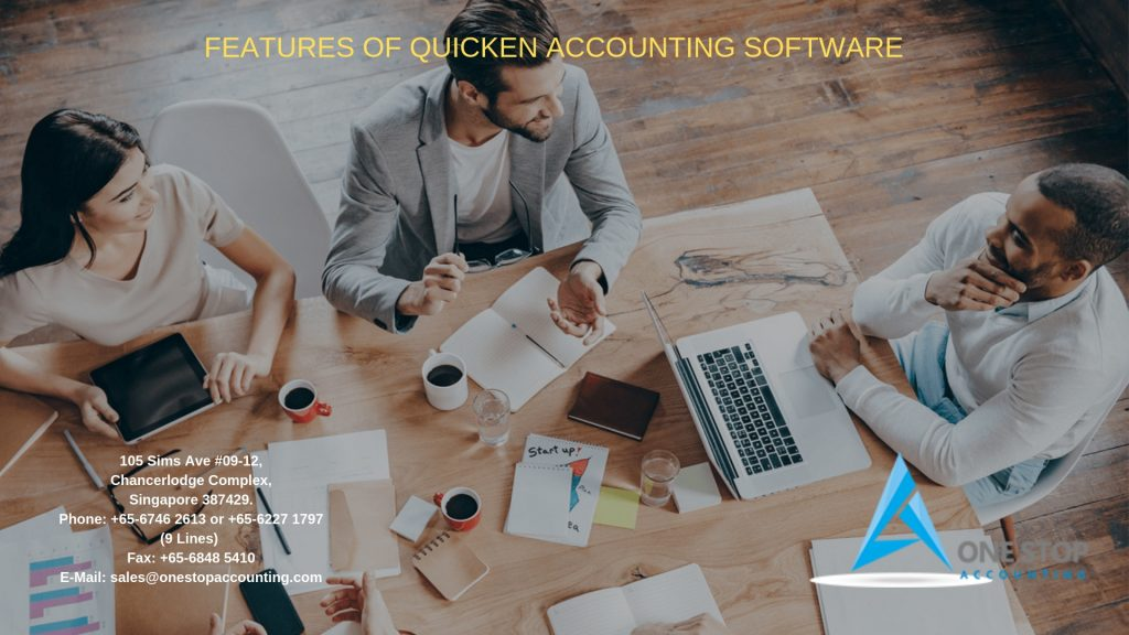 Features Of Quicken Accounting Software