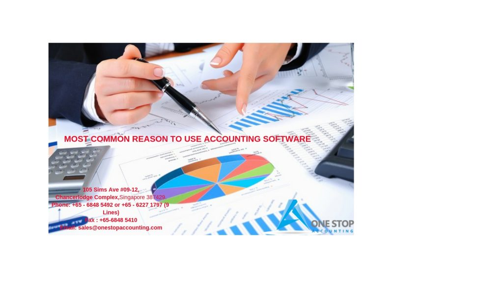 Most Common Reason to Use Accounting Software