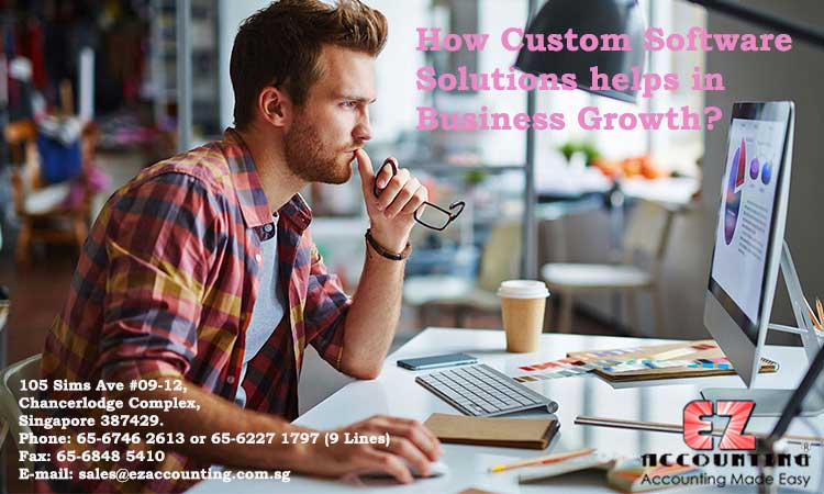 How Custom Software Solutions helps in Business Growth?