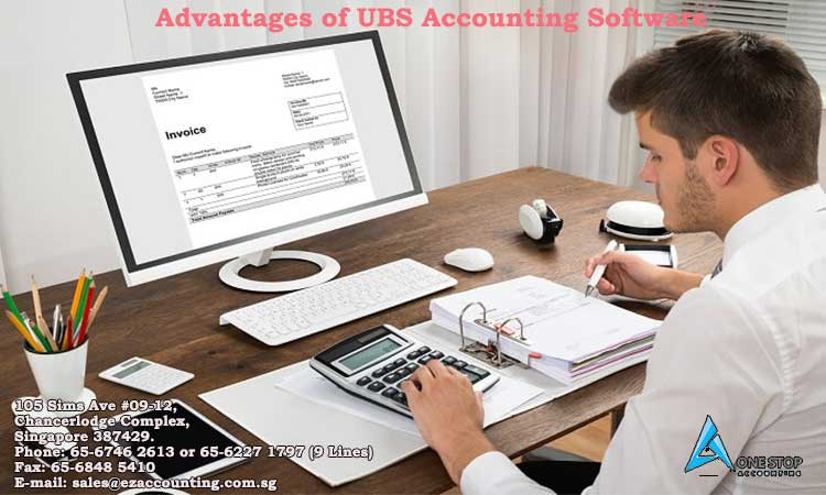 Advantages of UBS Accounting Software
