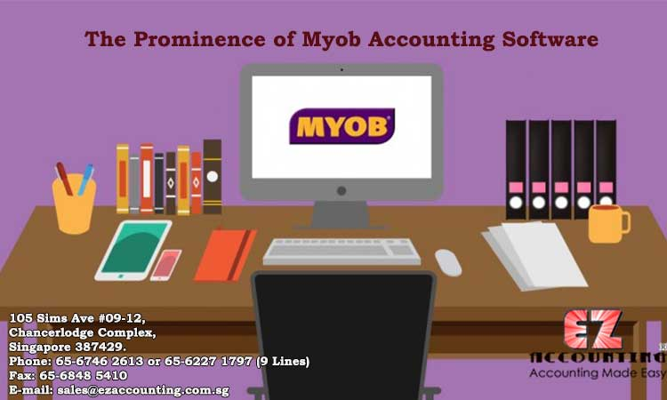 The prominence of MYOB Accounting Software