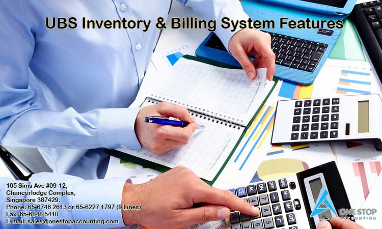 UBS Inventory & Billing System Features