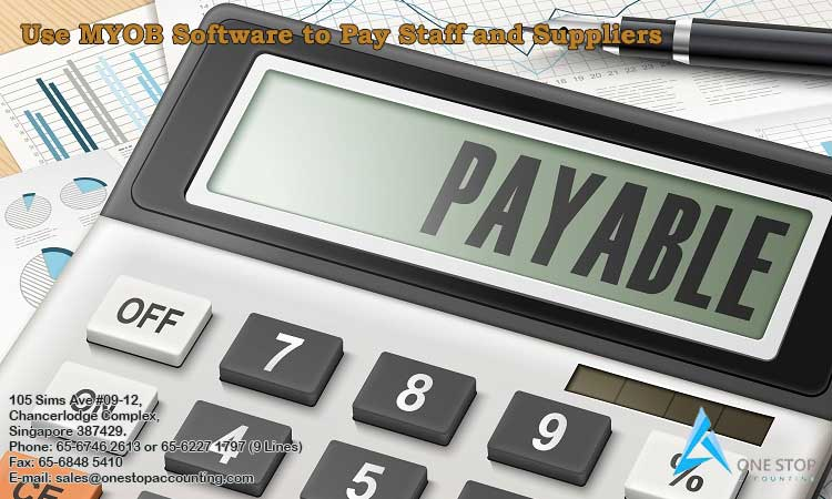 Use MYOB Software to Pay Staff and Suppliers