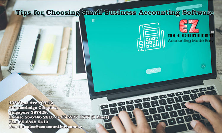 Tips for chooosing small business accounting software
