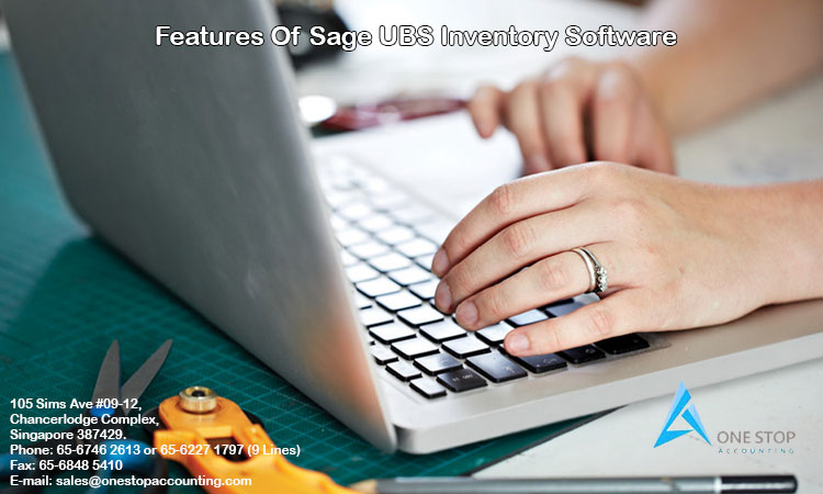 Features Of Sage UBS Inventory Software