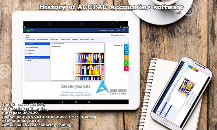 History of ACCPAC Accounting software