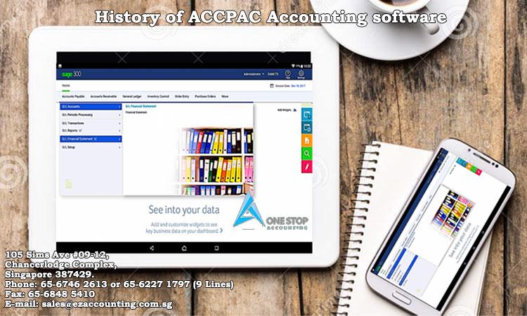 History of ACCPAC Accounting software