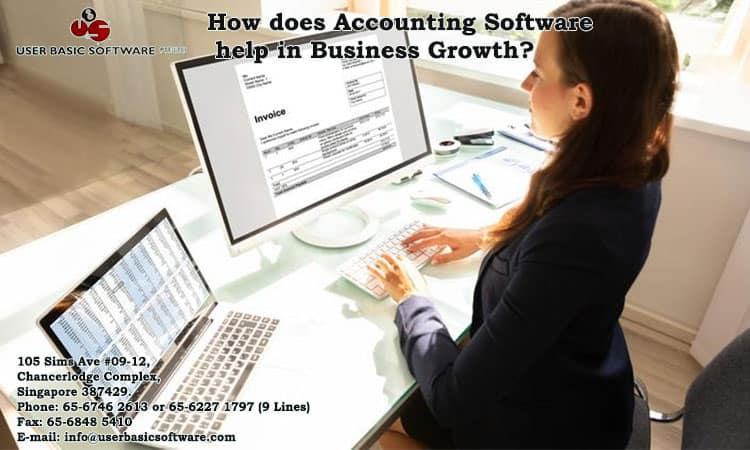 How Does Accounting Software Help In Business Growth?