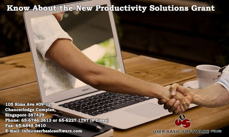 Know About the New Productivity Solutions Grant