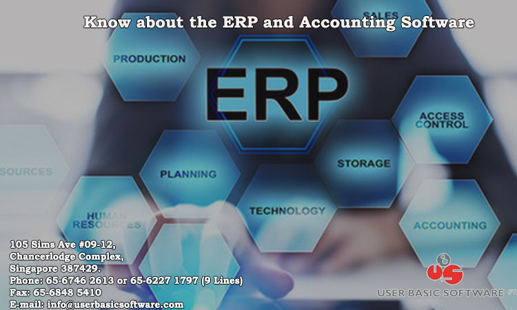 Know about the ERP and Accounting Software