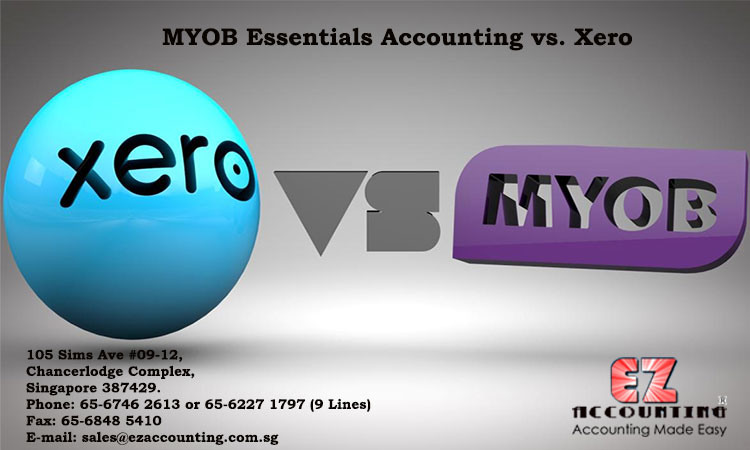 MYOB Essentials Accounting vs. Xero