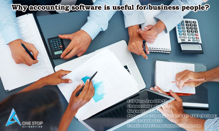 Why accounting software is useful for business people?