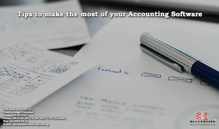 Tips to make the foremost of your accounting software